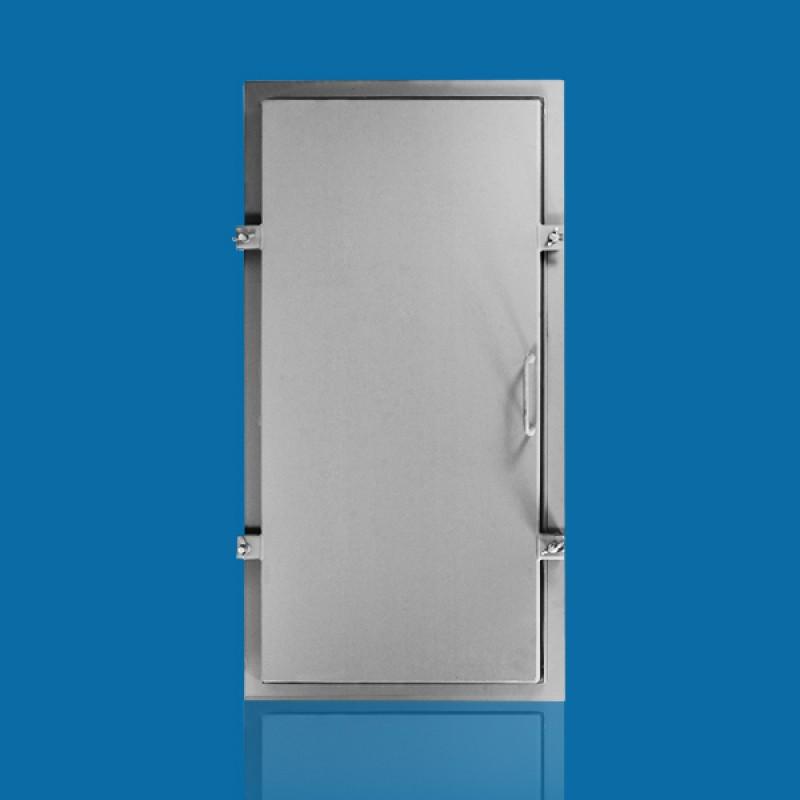 Дверь герметичная (серия 5.904-4) 0,9 х 0,4 (утеп.)